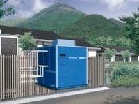 温泉エネルギーを電気に転換--神戸製鋼の新型発電装置が大分・湯布院の温泉旅館に初導入