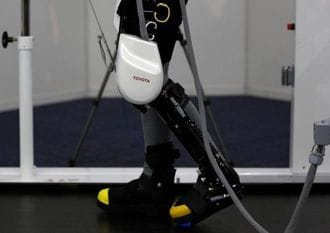 Toyota robot to keep elderly mobile, one step at a time
