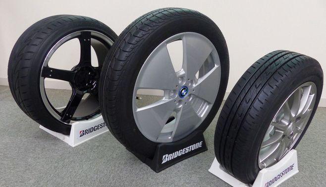 """BMWを""""味方""""につけた特殊なタイヤ"""
