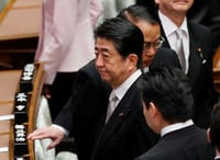 Japan's Abe avoids timeline for amending pacifist constitution