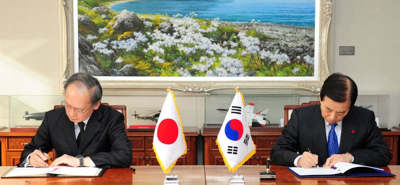 日本と韓国、「軍事情報包括保護協...