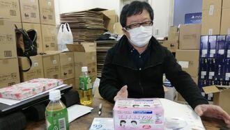 マスク220箱の転売やめ、配布した中国人の変心