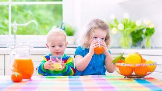 幼少期の「飲み物」は、子の集中力に影響する