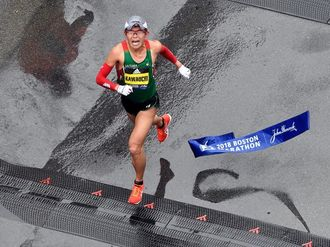 Kawauchi and Linden record shock wins in Boston Marathon