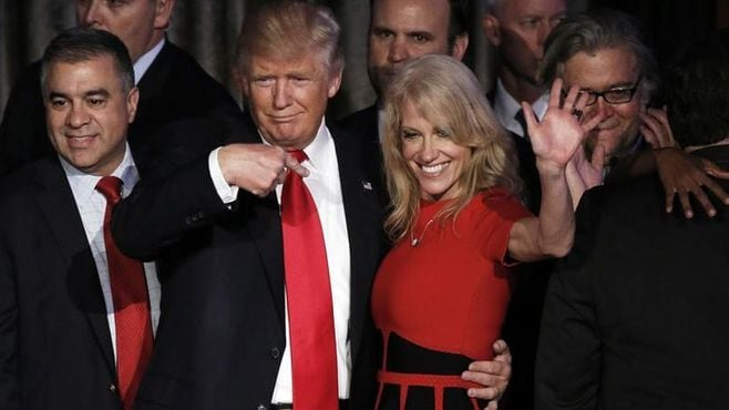 「トランプを当選させた女性」のヤバい存在感