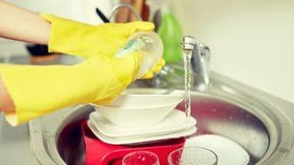 台所用スポンジは、やはり衝撃的に汚かった