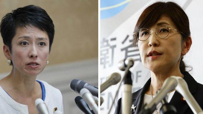 稲田氏と蓮舫氏、「同時辞任」の偶然と必然