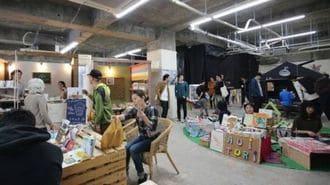 福岡の会社員が仕掛けた「仮設商店街」の先