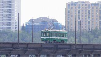 阪堺線の車両も走る…「カナダ鉄道旅」のツボ