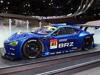 スバルがトヨタと共同開発の「BRZ」を世界初披露、新型インプレッサやHVコンセプトカーなども出展