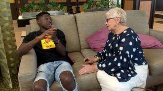 22歳黒人男性が、81歳白人女性に感じた友情