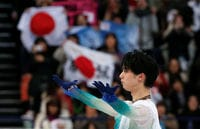 Popular Hanyu hopes to be bright as Button in Korea