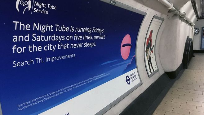 「終夜運転」始めたロンドン地下鉄の光と影