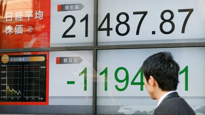 NYダウと日経平均株価はどこで下げ止まるか