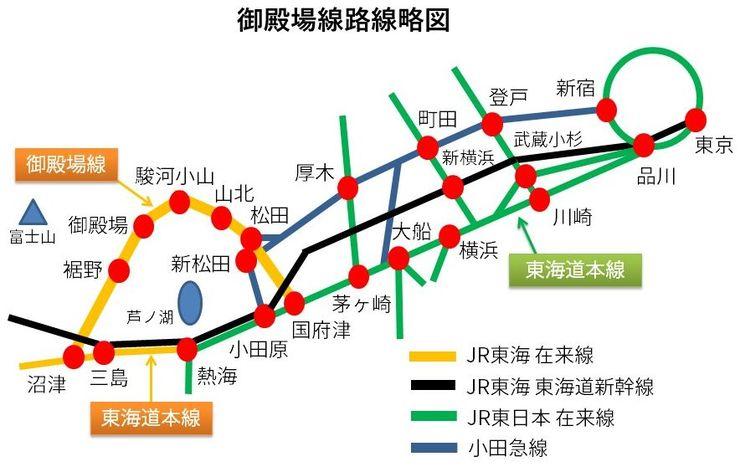 成田エクスプレスは御殿場線に乗り入れるか   ローカル線・公共交通 ...