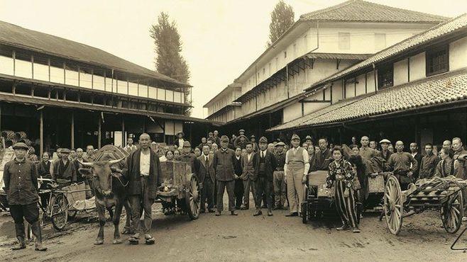 100年前の超花形「製糸企業」の華麗なる転身