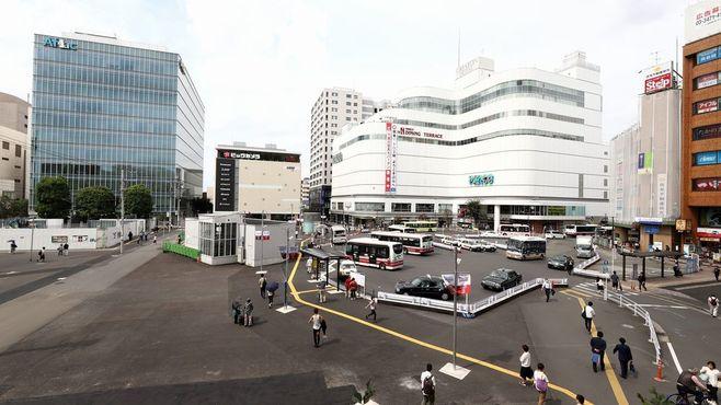京王「調布駅前」新施設でイメージ刷新なるか