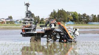 クボタ「自動田植え機」普及への期待とハードル