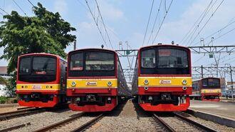 JR東と「205系」が支えたジャカルタ鉄道の発展