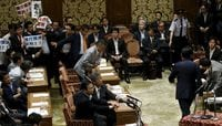 Japan's Abe Pushes Security Bills in Summer of Discontent