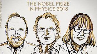 ノーベル物理学賞は米・仏・カナダの3氏へ