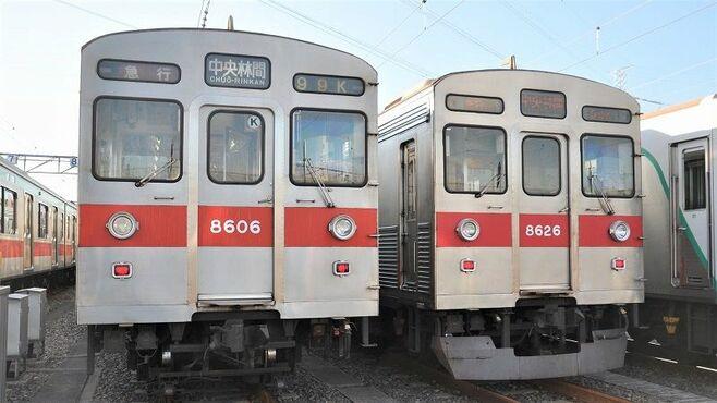 田園都市線の顔、消えゆく「8500系」銀色電車