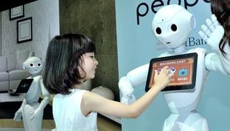 Meet New Pepper--Robot with Emotions