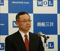 """商船三井の新社長に""""本命""""の最年少取締役・武藤専務が就任へ、"""