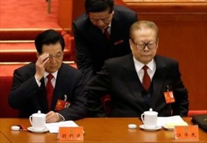 """胡錦濤、完全引退へ。""""院政""""の夢破れる"""