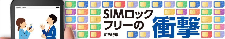 SIMロックフリー