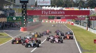 鈴鹿F1日本GPを彩る伝説マシン走行の舞台裏