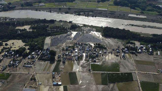 日本の河川堤防は集中豪雨に耐えられない