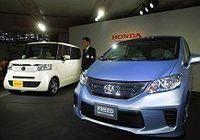 ホンダがフリードシリーズのHVを発表、新型軽自動車も公開し、国内販売強化の姿勢を鮮明に示す