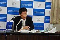 住友金属の友野社長が29日会見、新会社への抱負を語るとともに業界の需給見通しは慎重視