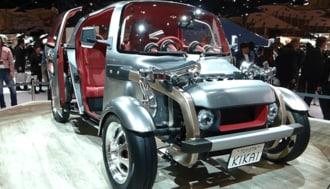 Tokyo Motor Show 2015: Toyota Showcased a New Concept Car KIKAI
