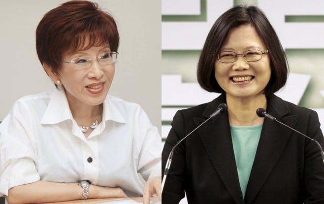"""""""女対決""""の台湾総統選、予見される勝者は"""