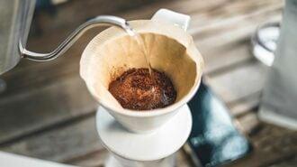 コーヒーの健康増進効果を満喫する「いれ方」