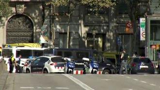 バルセロナ自動車テロ、少なくとも13人死亡