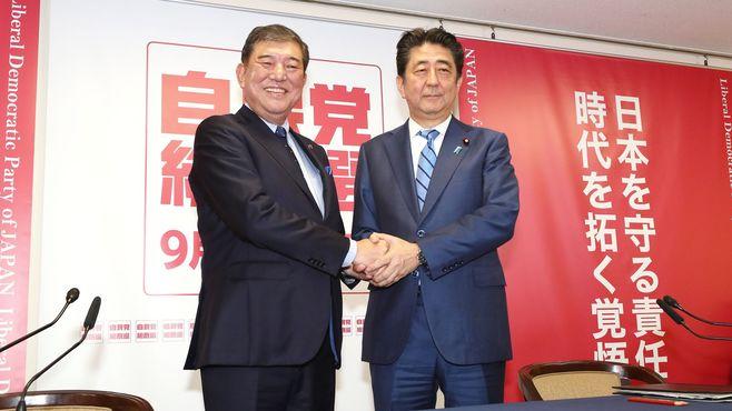 安倍首相vs石破氏「改憲」と「政治手法」で激突