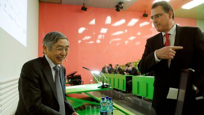 黒田日銀総裁のスイスでの発言は意外だった