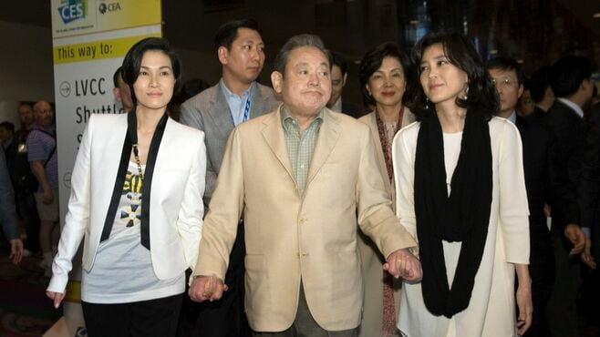 夫に13億円、サムスン創業者長女が離婚へ