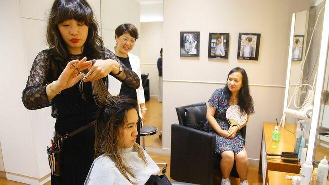 1回3万円、中国人が「銀座の美容院」に通うわけ