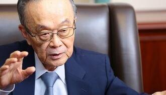 """森トラスト社長「五輪後に経済の""""崖""""が来る」"""