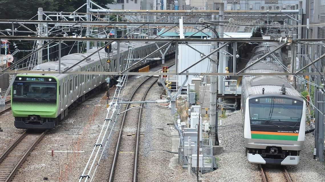 渋谷 駅 湘南 新宿 ライン