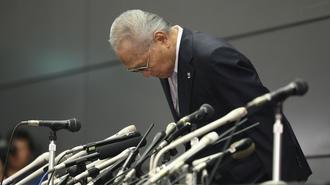山根会長「辞任4分声明」の不用意すぎる中身