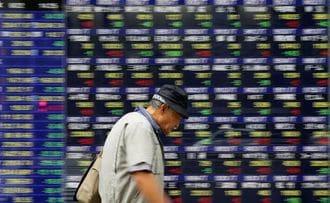 日経平均株価は3日続伸、資生堂が急騰