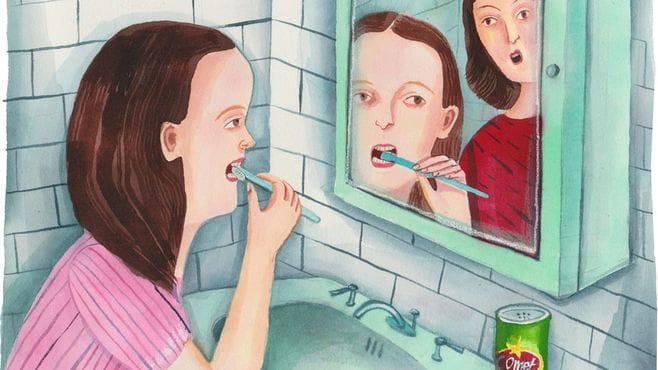 私の歯を住宅用洗剤で磨かせた精神病の母へ