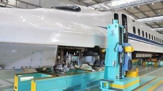 新幹線が「空を飛ばなくなった」新工場の秘密