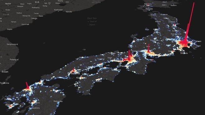 日本の地価「一瞬でわかる!」過去30年の全推移