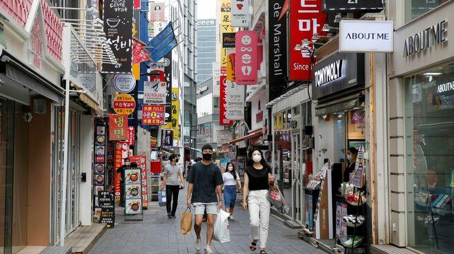 韓国が日本よりGDPの落ち込みが小さかった訳